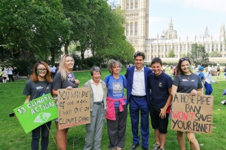 Mass Lobby_Wilder Future Campaign_with Ed Milliband, MP