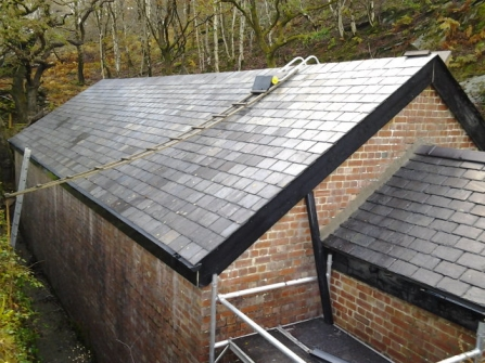 New slate roof at Gwaith Powdwr nature reserve (c) Rob Booth