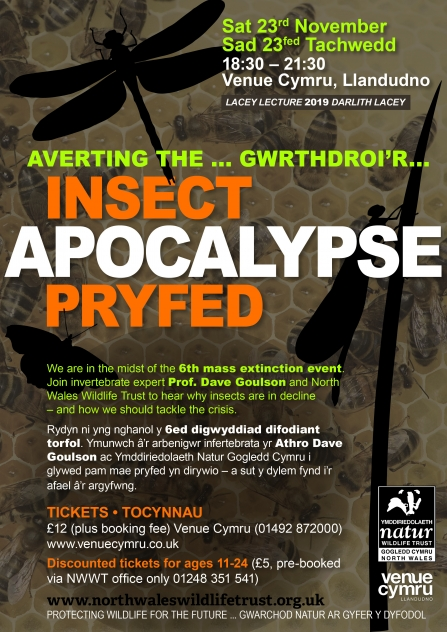 NWWT Lacey Lecture 2019_FLYER_Averting the Insect Apocalypse