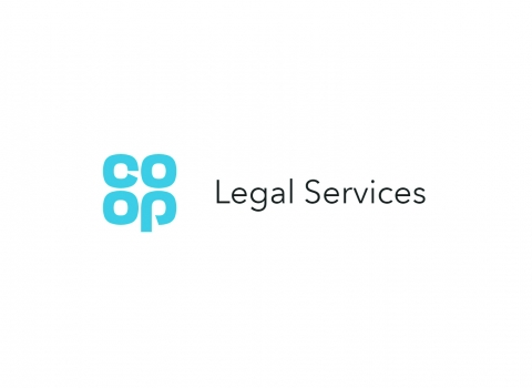 Co-op Legal services logo on white