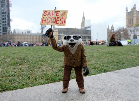 Badger protest_Mass Lobby